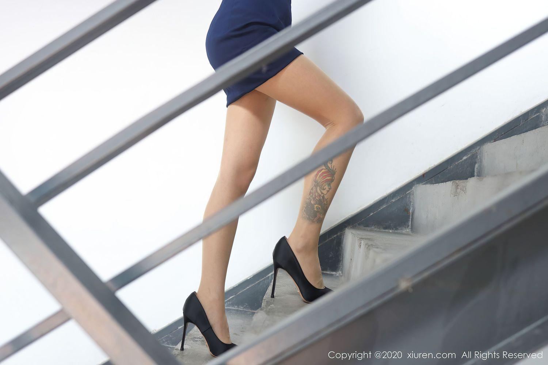 Vol.840 职场OL内衣诱惑高跟鞋制服诱惑美女模特秀人网-佘贝拉完整私房照合集