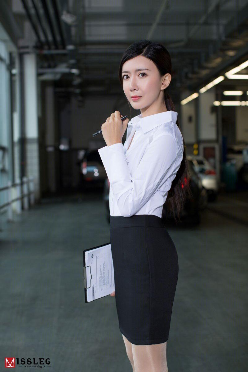 Vol.780 丝袜美腿职场OL白衬衫翘臀美女模特MISSLEG蜜丝-赵智妍完整私房照合集