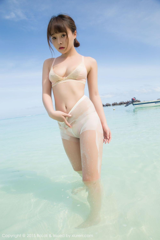 Vol.613 比基尼泳装美女湿身诱惑沙滩美女美女模特波萝社-柳侑绮完整私房照合集