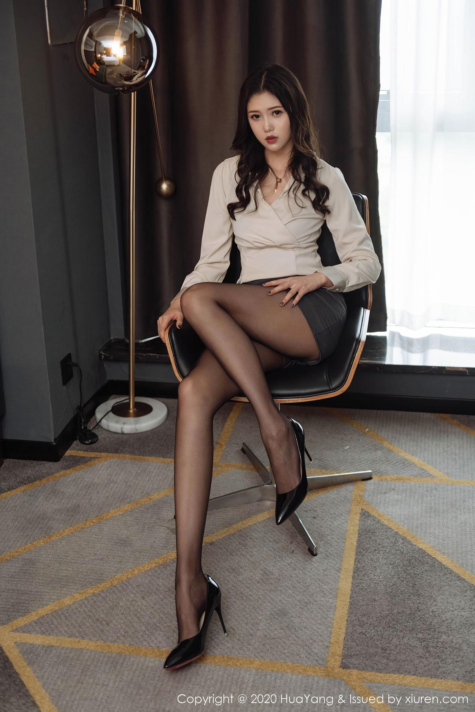 Vol.540 都市丽人丝袜美腿职场OL高跟鞋美女模特花漾写真-陈一涵完整私房照合集