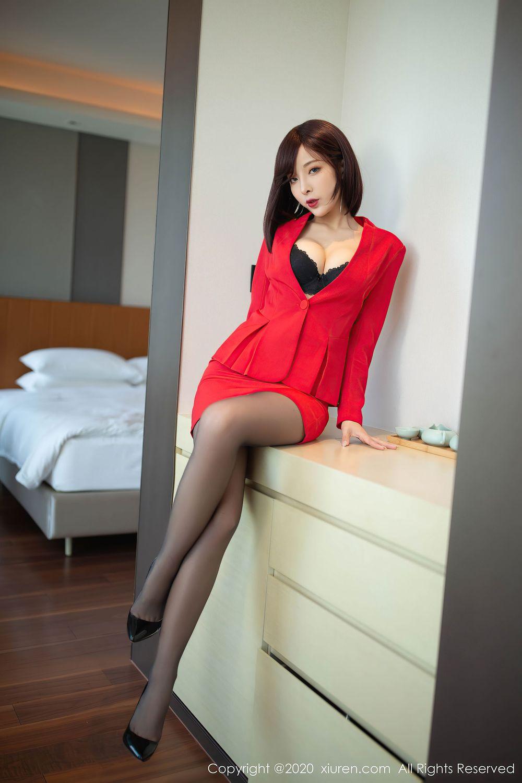 Vol.606 黑丝美腿都市丽人翘臀内衣诱惑美女模特秀人网-陈小喵完整私房照合集