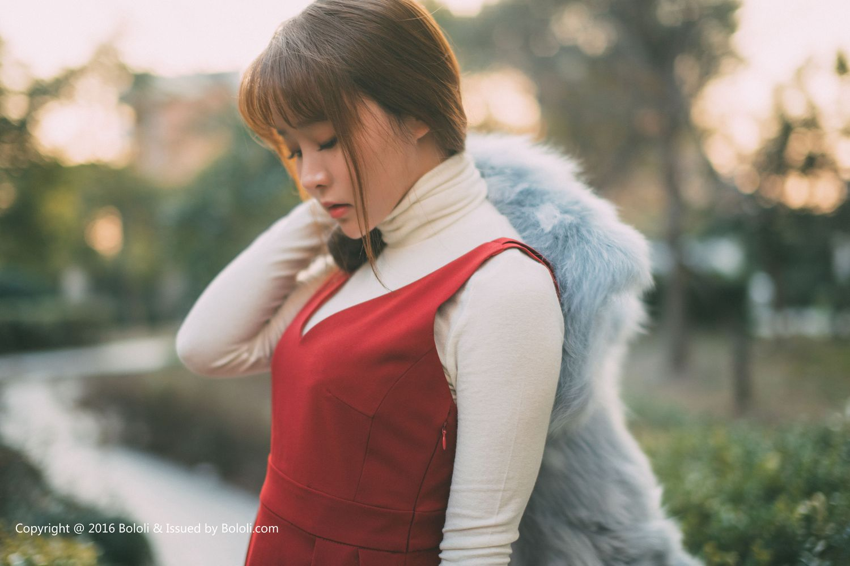 Vol.520 死库水红裙美女米老鼠美女模特波萝社-柳侑绮完整私房照合集