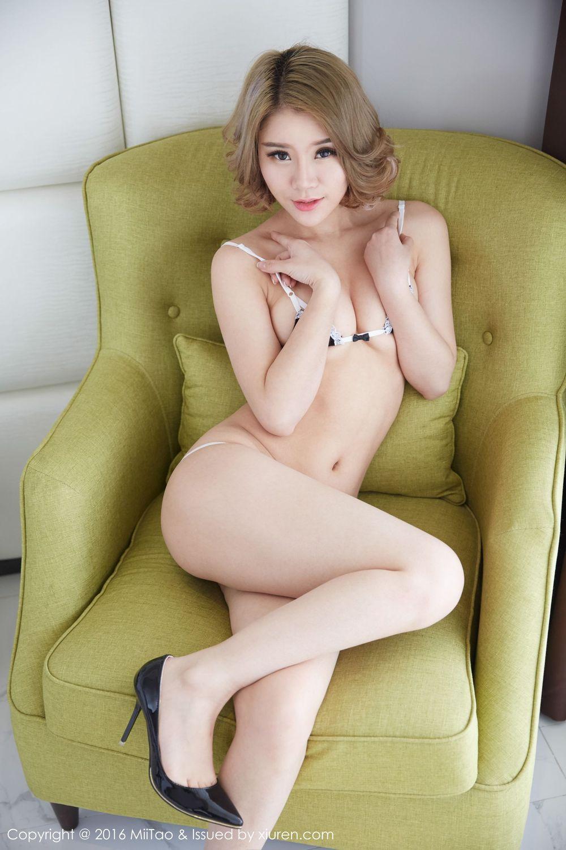 Vol.26 女仆装泳装美女三点式情趣内衣美女模特蜜桃社-爱丽莎Lisa完整私房照合集