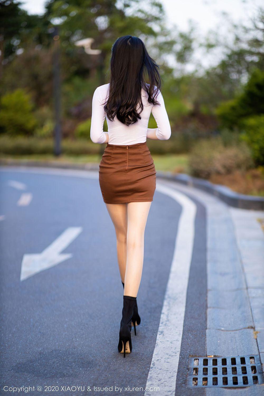 Vol.22 丝袜美腿户外美女超短裙都市丽人美女车模性感美女语画界-言沫完整私房照合集