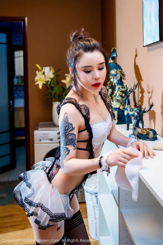 Vol.305 女仆装黑丝美腿制服诱惑大尺度美女模特秀人网-爱丽莎Lisa完整私房照合集