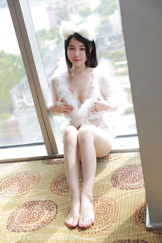 Vol.618 猫女郎情趣制服白嫩美女大尺度嫩模模范学院-美七Mia完整私房照合集