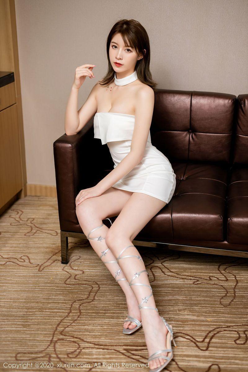 Vol.165 美腿抹胸裙内衣诱惑性感美女美女模特秀人网-yoo优优完整私房照合集