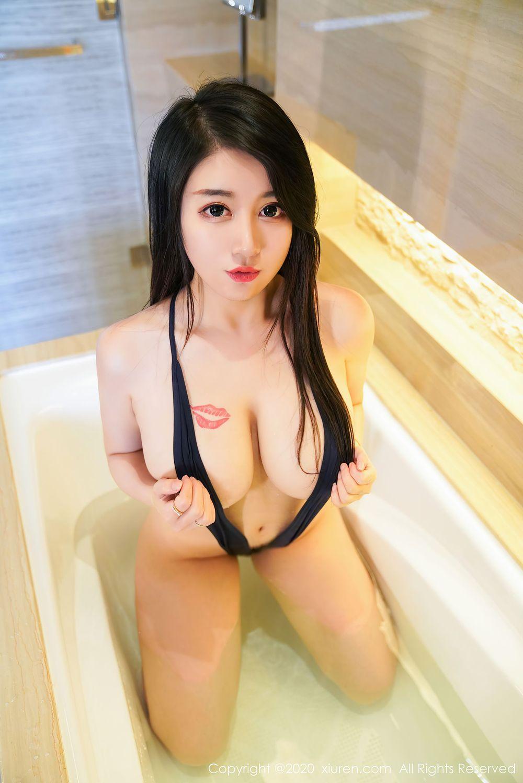 Vol.973 浴室美女童颜巨乳大尺度情趣内衣大胸美女美女模特秀人网-美七Mia完整私房照合集