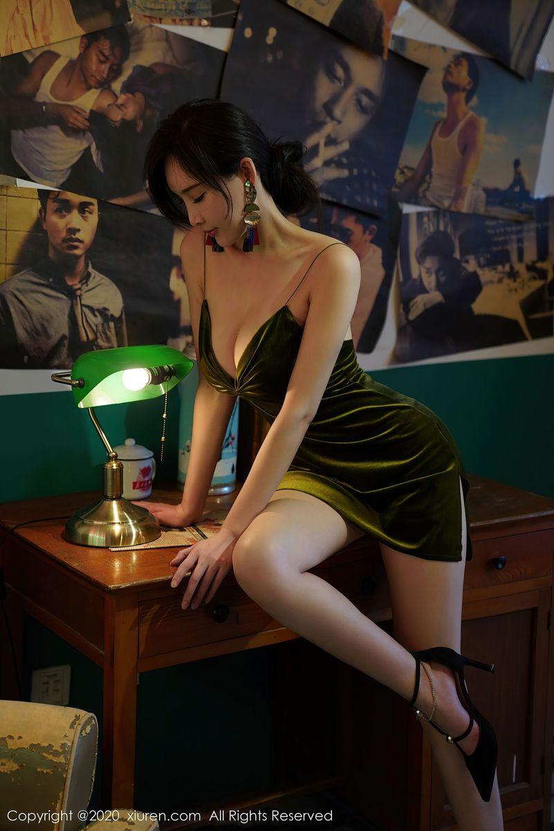Vol.468 吊裙腿控福利御姐高跟鞋性感女神秀人网-周妍希完整私房照合集