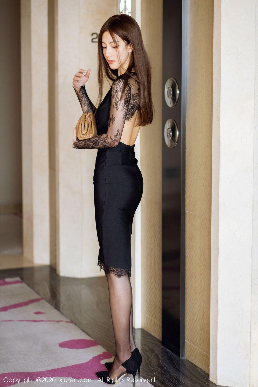 Vol.782 长裙美女黑丝美腿高跟鞋翘臀美女模特秀人网-林文文完整私房照合集