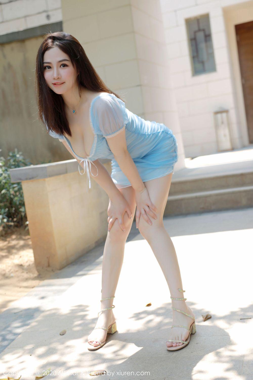Vol.454 吊裙肉感美女腿控福利童颜巨乳爆乳美女模特模范学院-徐cake完整私房照合集