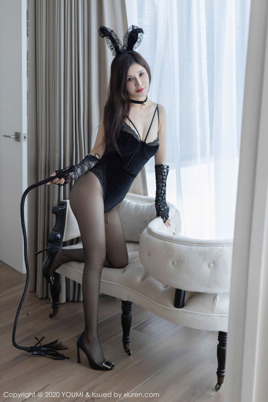 Vol.831 黑丝美腿兔女郎女王调教美胸美女模特尤蜜荟-纯小希完整私房照合集