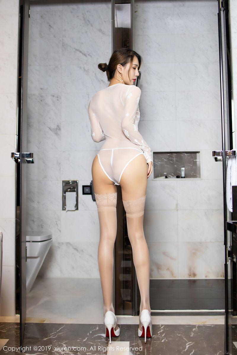 Vol.263 丝袜美腿翘臀私房照情趣内衣美女模特秀人网-白子嫣完整私房照合集