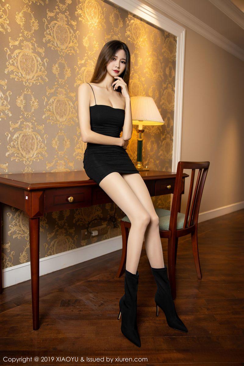 Vol.806 吊裙丝袜美腿私房照长发美女嫩模美女模特语画界-程程程-完整私房照合集
